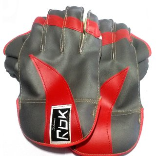 Wicket Keeping Gloves. Leather Gloves for Cricket Color As per Availability