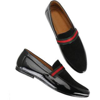 Men's Black Party wear Loafer