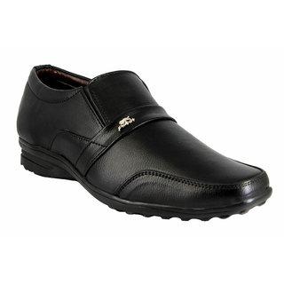 Blue Pop Black Formal  party wear shoes for men