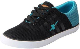 Sparx Women's Black Aqua Mesh Sneakers Casual Shoes
