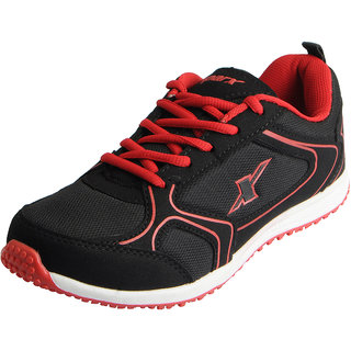 Sparx Womens Black Red Mesh Sports Running Shoes