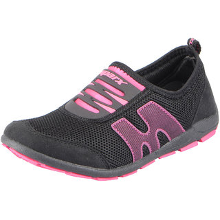 Sparx Womens Black Pink Sports Running Shoes