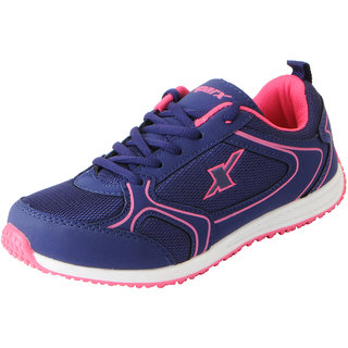 Sparx Womens Voilet Pink Mesh Sports Running Shoes