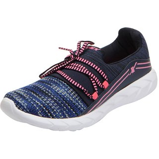 Sparx Womens Navy Pink Mesh Sports Running Shoes