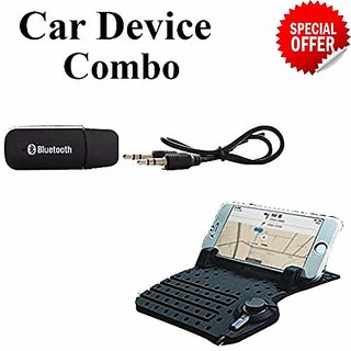 Skycandle Car Mobile Phone Holder Adjustable Car Dashboard Holder with Magnetic USB Data Cable for Phone and Portable US