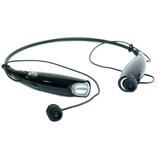 doitshop HBS-730 P Bluetooth Stereo Wireless Mobile Phone Headphone with Call Functions (Black)
