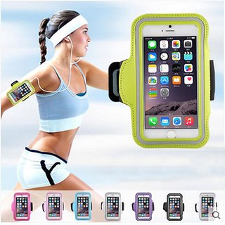 Transparent Mobile armbands for running