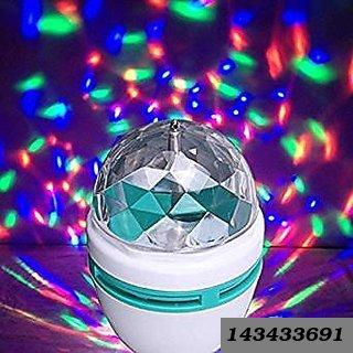 Laser light colourful disco bulb rotate 360