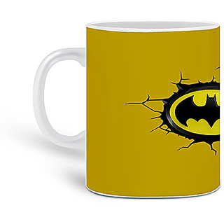 Customized Batman Printed Ceramic Mug 325ML