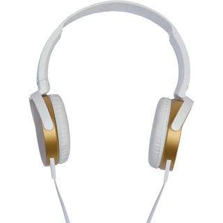 Alpino MetalHead-1 headset headphone over the ear Gold