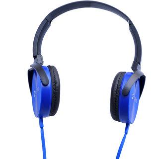 Alpino MetalHead-1 headset headphone over the ear Blue