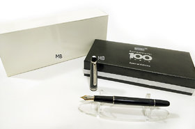 New MB Classique 163 Fountaon  Ink Pen With MB Box- Corporate Gift