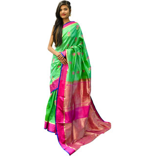Indians Boutique's Pure Silk (Green)