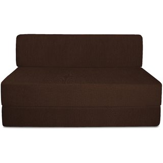 houzzcraft fuego sofa cum bed brown