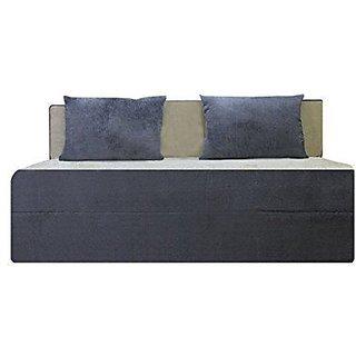houzzcraft Finno sofa cum bed grey and beige