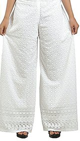 Palazzo pant for women chicken embroidery Palazzo