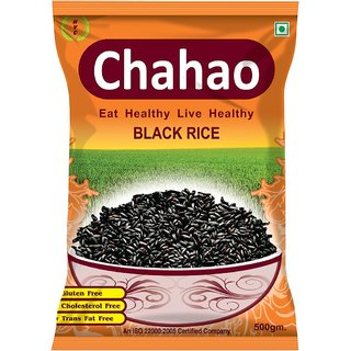 Chahao Black Rice 500grm (pack of 1)