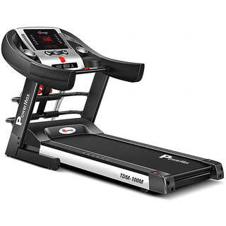 Powermax Fitness TDM-100M 1.5HP Semi-Auto Lubrication Multifunction Treadmill