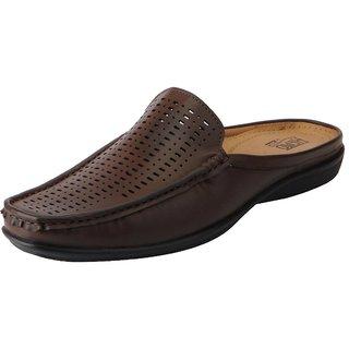 Bata Mens Brown Slip On Casual Shoes