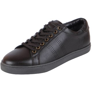Bata Mens Brown Sneakers Casual Shoes