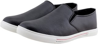 Smoky Black Casual Shoes for Men