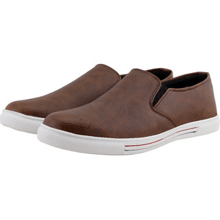 Smoky Brown Casual Shoes for Men