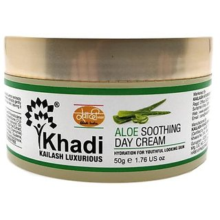 Khadi Aloe Soothing Day Cream 50 GM