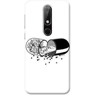 FurnishFantasy Mobile Back Cover for Nokia 3.1 Plus - Design ID - 1181