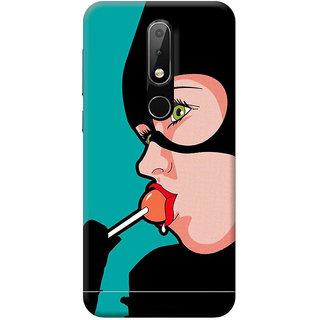 FurnishFantasy Mobile Back Cover for Nokia 3.1 Plus - Design ID - 1835