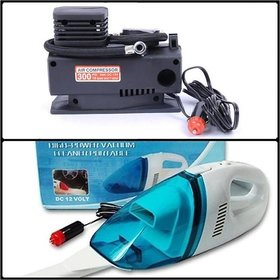 Pack of MBK Pump and Car Vacuum Cleaner Combo