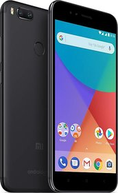Mi A1 Black, 64 GB 4 GB RAM(Refurbished)(1 Year Warranty Bazaar Warranty)