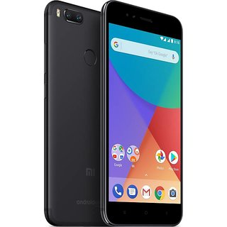 Mi A1 Black, 64 GB 4 GB RAM(Refurbished)(1 Year Warranty Bazaar Warranty)