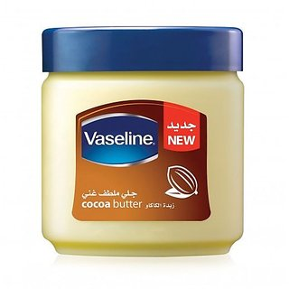 Imported Vaseline Cocoa Butter Petroleum Jelly-120 ML  Made in RSA
