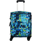 Timus Indigo Spinner Blue Expandable Cabin Luggage   20 inch