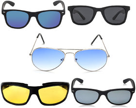 David Martin Super Combo 5 Sunglasses (Medium Size) (UV Protected)