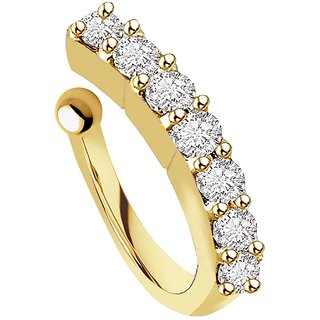 New gold plated snaya nosring for girls and womens
