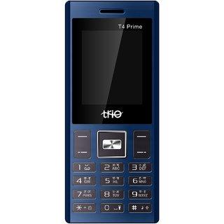 Trio T4 Prime  Dual Sim, 1.8 Inch, 1000 Mah Battery, Wireless FM, Blue Black