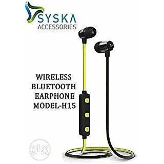 f785f4471cb Buy Syska H-15 Wireless Earphone(yellow) Online - Get 78% Off