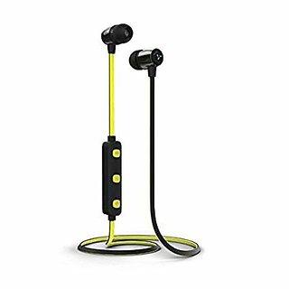 syska h15 wireless headphones yellow