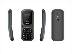MTR Banana Dual Sim, 800 Mah, 1.8 Inch, Multiple Language Mobile Phone In Black Color