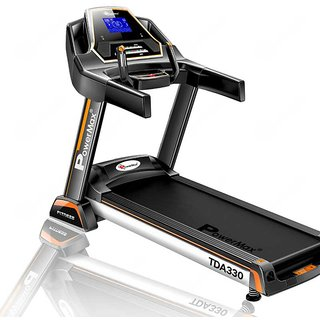 Powermax Fitness TDA-330 (3.0 Hp) Motorized Treadmill with Auto Incline