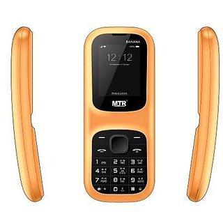MTR BANANA DUAL SIM, 800 MAH, 1.8 INCH, MULTIPLE LANGUAGE MOBILE PHONE
