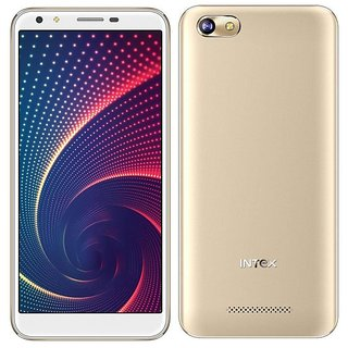 Intex Mobile Infie 33 Full View Display With Manufacturer Warranty (1GB RAM 8GB Rom)