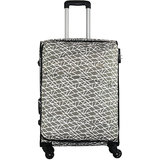 Timus Indigo Spinner Beige Expandable Check in Luggage   25 inch