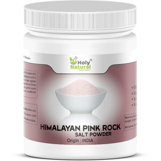 Himalayan Pink Rock Salt Powder - 1 KG by Holy Natural