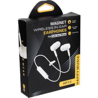 morex HP 13 Magnet Wireless Bluetooth headset black color