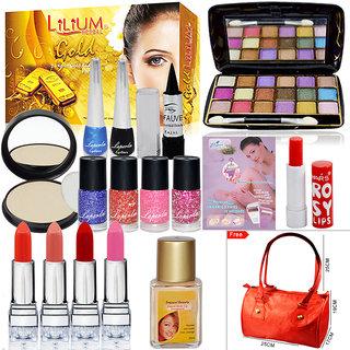 Beauty Heart Combo Makeup Sets Pack Of 18