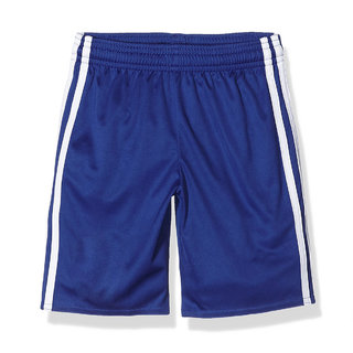 Uniq Sports Shorts for Boys Blue with White