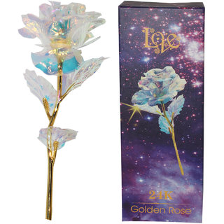 24k Golden Flower With Led Light