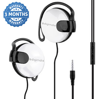 Digimate Earlock  Headphone ( With Mic)